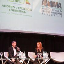 Ministro Sergio Bergman y Aleandra Scafati